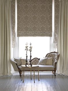 mood lighting for the home Betty Pepis - interior decoration Home Design Inspiration For Your Living Room Joseph Dirand modern interiors des. Home Interior, Interior Decorating, Interior Design, Style At Home, Rideaux Design, Curtains With Blinds, Roman Blinds, Silk Curtains, Drapery Panels