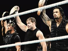 Photo of The Shield for fans of WWE 35243506 Wwe Wrestlemania 34, Wwe Main Event, Divas, Roman Reigns Dean Ambrose, Mark Henry, Wwe Pictures, The Shield Wwe, Seth Rollins, Professional Wrestling