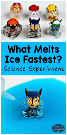 What Makes Ice Melt Fastest? Use the Scientific Method in this learning activity and figure out how to save the Paw Patrol from the ice.