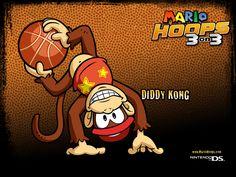 Cartoon Diddy.  #Donkey #Kong #DK #K #O #N #G #Country #SNES #Wii #Monkey #Hero #Banana #Lover #Diddy #Sidekick #Red #Hat Diddy Kong, Donkey Kong Country, The Donkey, Red Hats, Super Mario Bros, Bowser, Hero, Cartoon, Games