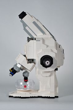 A (working!) microscope made from Legos. #lego #ivnas