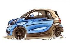 New Smart ForTwo - Design Sketch