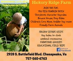 2016-Hickory Ridge Farm Pumpkin Patch, Chesapeake