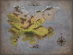 Dnd World Map, Fantasy World Map, Science Fiction, Kirk Originals, Imaginary Maps, Cersei Lannister, Sword And Sorcery, Cartography, Vintage World Maps