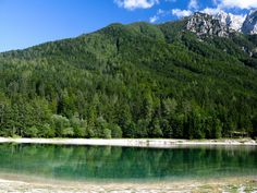 https://flic.kr/p/77PJaB | Green lake | Lake Jasna near Kranjska Gora, Slovenia