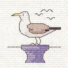 Seagull: Cross stitch (Mouseloft, 00B-005bts)