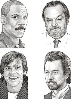 Celebrity Hedcuts by Randy Glass
