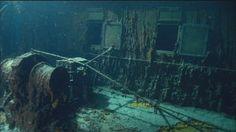 Titanic Today - Titanic - A Night To Remember Titanic Wreck, Titanic Ship, Rms Titanic, Haunted Places, Abandoned Places, Haunted Houses, Titanic Today, Titanic Underwater, Haunted Happenings