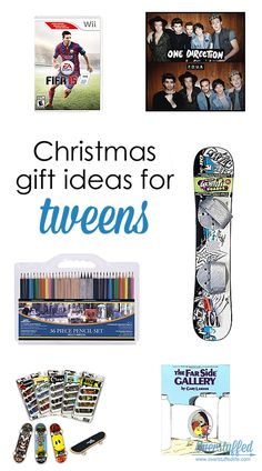 Christmas Gift Ideas for Tweens--both boys and girls will enjoy most of the items on this list!