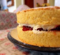 English sandwich cake