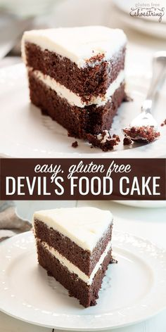 Rich, but not too rich; sweet but not too sweet. This moist and tender gluten free devil's food cake can easily be made into cupcakes or a layer cake. It might just be your new go-to chocolate cake recipe! Be sure to watch the short video that proves just how easy it is.
