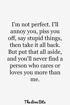 Looking for the best love quotes for him? Take a look at these 50 romantic love quotes for him to express how deep and passionate your feelings are Cute Love Quotes, Love Quotes For Him Boyfriend, Couples Quotes For Him, Daily Love Quotes, Soulmate Love Quotes, Romantic Love Quotes, True Love Quotes For Him, Sweet Quotes For Him, Couple Sayings