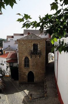 Side street @ Óbidos, Portugal