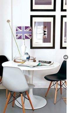 Decorating with docksta on pinterest tulip table style for Docksta dining table