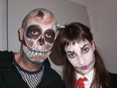 Face Painting by Laura Tevar. Halloween with Friends. Nov,2009. Yecla (Spain)