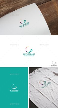 Dot Arrow  Logo Design Template Vector #logotype Download it here: http://graphicriver.net/item/dot-arrow-logo/13931064?s_rank=304?ref=nexion
