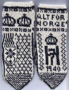 King of NorNice!way Pattern 1940 - Norwegian Mittens Norwegian People, Christmas Tea Party, Norway Viking, Norwegian Knitting, Beautiful Norway, Alpine Style, Norse Vikings, Fingerless Mittens, Folk Fashion