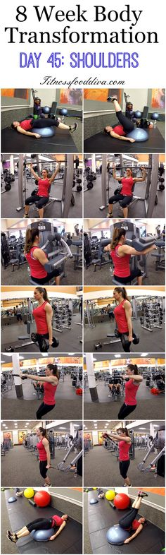 8 Week Body Transformation: Day 45 SHOULDERS.