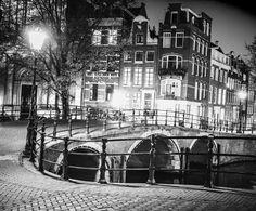 fotobehang zwart wit amsterdam - Google Search Voor slaapkamer