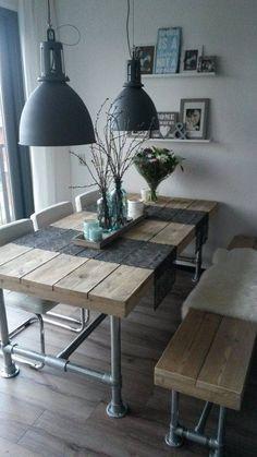 ラスティックなテーブルにはどんなインテリアがあうの? | folk