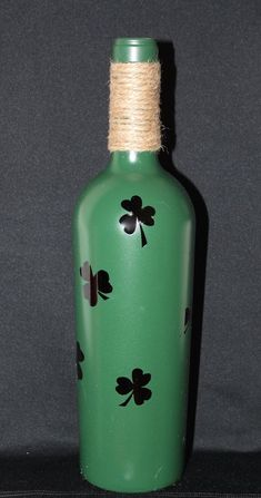 St. Patrick's Day festive painted by CatonsvilleTreasures on Etsy