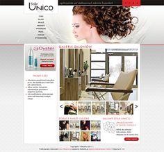 StileUnico.pl hair salon webdesign « Krakweb.pl »