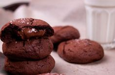 Chocolate Paste Cookies