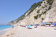 Lefkada - Egremni beach #Greece #Greek #Hellas