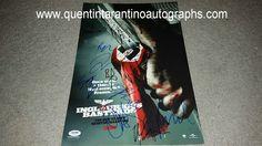 My Quentin Tarantino Autograph Collection: Quentin Tarantino, Brad Pitt, Christoph Waltz, Mic...