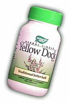 Nature's Way - Yellow Dock Root, 500 mg, 100 capsules by Nature's Way. $4.97. Yellow Dock is a traditional bitter herb. It is used in cultures around the world for its reputation in supporting healthy blood and liver. It was especially favored by English herbalists and used for it's mild laxative effect. Bitter, Vitamins, Blood, Herbs, Nutrition, Wellness, English, Personal Care, Traditional