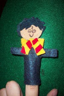 Harry Potter finger puppets