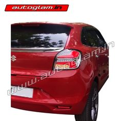 Looking for Maruti Suzuki Baleno LED Tail Lights? Spice it up with Autoglam LED Tail Lights. These are plug and play and it gives wonderful rear look to the car. Led Tail Lights, Projector Headlights, Car Accessories, Style, Auto Accessories, Stylus, Car Gadgets
