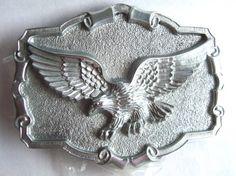 Men's Belt Buckle Flying Eagle