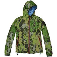 Blauer USA Coole Unisex Wendejacke mit Camouflage Muster