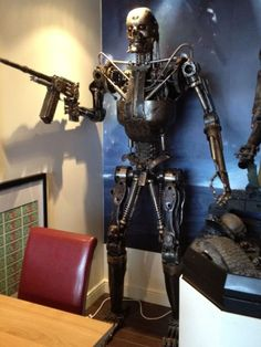 Terminator Salvation full size Endoskeleton | eBay