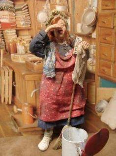 Marcia Backstrom Dollhouse Dolls, Miniature Dolls, Nursery Toys, Elf Doll, Polymer Clay Dolls, Art Dolls, Minis, Doll Clothes, Holidays
