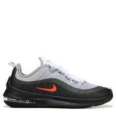 premium selection d8402 5b2ce Nike Men s Air Max Axis Sneakers (Grey Orange Black)