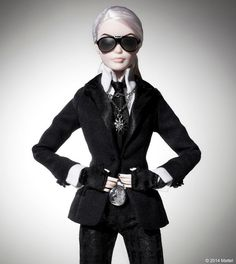 Behold the Karl Lagerfeld-inspired Barbie plus other inventive dolls - Fashion - Stylist Magazine