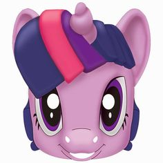 My Little Pony Free Printable Masks. - Possible for gift bags