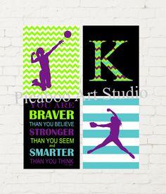volleyball-spiker-female-volleyball-softball-pitcher-softball-art-monogram-art-print-modern-girls-bedroom-decor-pre-teen-girl-gift-volleyball-spiker-f/ SULTANGAZI SEARCH Girl Bedroom Walls, Bedroom Decor, Softball Pitcher, Teen Girl Gifts, Childrens Room Decor, Volleyball, Monogram, Art Prints, Female
