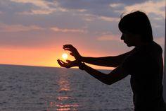 Sunset,  Kona Hawaii By Katie McCoy
