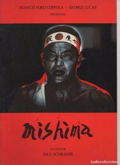 MISHIMA, LIBRO PRESENTACIÓN DEL FILM DE PAUL SCHRADER 1985