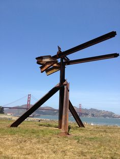 Mark di Suvero, Crissy Field, San Francisco. 2013