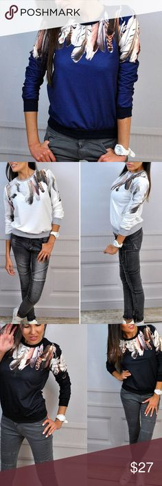 ⭐️ OJDC Sweater AVAILABLE SOON ❗️COMMENT BELOW TO BE NOTIFIED WHEN THIS ITEM IS AVAILABLE FOR PURCHASE ON POSHMARK | cotton/polyester blend | price firm unless bundled | measurements and pre-order information available at oceanjewelersdesignco com | measurements will be available here on this listing when the item becomes available for poshmark purchase OJDC Tops