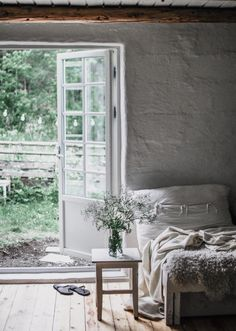 my scandinavian home: A Magical Norwegian Country Cottage With a Wabi Sabi Vibe Unique Home Decor, Home Decor Items, Cheap Home Decor, Home Decor Accessories, Living Room Decor, Bedroom Decor, 70s Bedroom, Bedrooms, Luxury Homes Interior