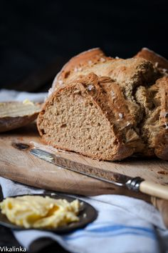 Honey and Buckwheat Soda Bread with Sea Salt
