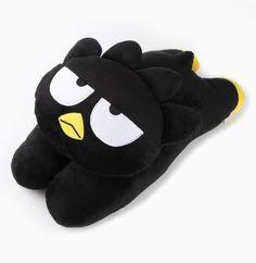 #Snuggleup for bedtime! It's the Badtz-Maru huggable pillow.
