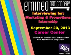Contact Emineo Art Gallery for more details. This seems like a wonderful opportunity!