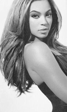 Beyonce makeup and hair