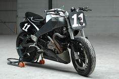 The BOTT XR2: a road-legal custom based on the Buell XB and designed to resemble the BOTT XR1 racebike.